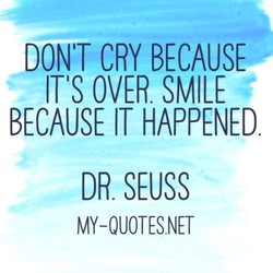 DONT CRY BECAUSE 