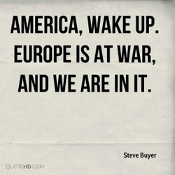 AMERICA, WAKE UP. 