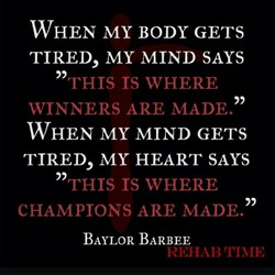 WHEN MY BODY GETS 