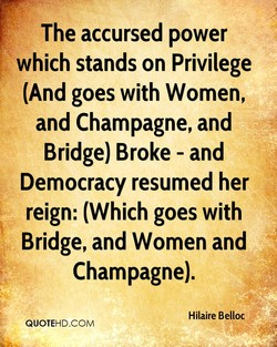The accursed power 