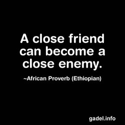 A close friend 