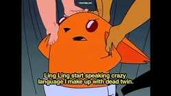Ling Ling start speaking gazy