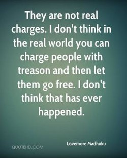 They are not real 