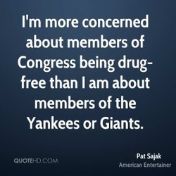 I'm more concerned 