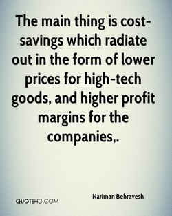 The main thing is cost- 