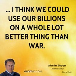 ... I THINK WE COULD 