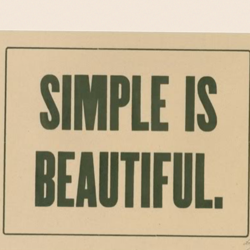 SIMPLE IS 