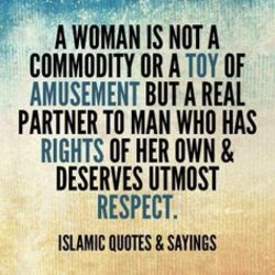 A WOMAN IS NOT A