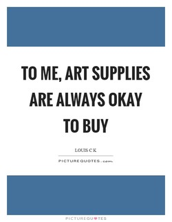 TO ME, ART SUPPLIES 