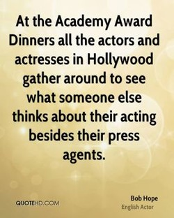 At the Academy Award 