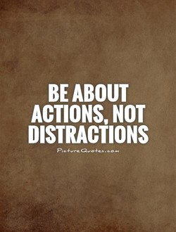 BE ABOUT 