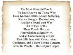 The Most Beautiful People