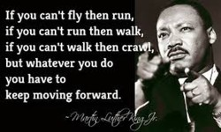 If you cant fly then run,