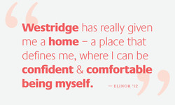 Westridge has really given 