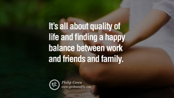 It's all about quality of 