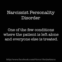 Narcissist Personality 