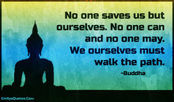 No one saves us but 