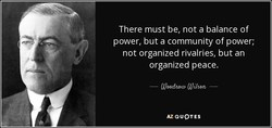 There must be, not a balance of 