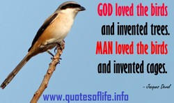 GOD loved the 