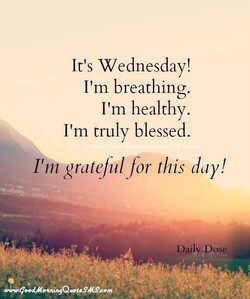 It's Wednesday!