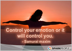 Control youre otion or it 