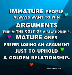 IMMATURE PEOPL 