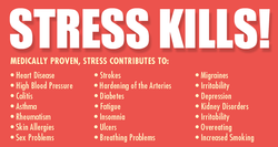 STRESS KILLS! 