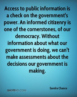 Access to public information is 