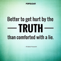 Better to get hurt by the 