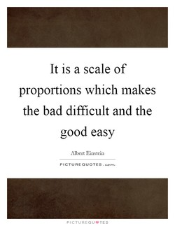It is a scale of 