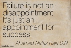 Failure is not an 