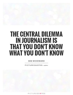 THE CENTRAL DILEMMA 