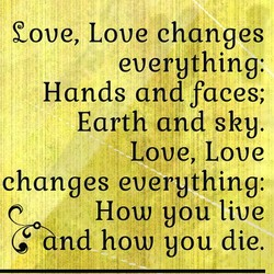 Cove, Love changes 