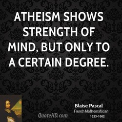 ATHEISM SHOWS 