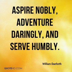 ASPIRE NOBLY, 