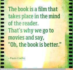 The book is a film that 