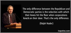 The only difference between the Republican and 