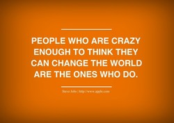 PEOPLE WHO ARE CRAZY 