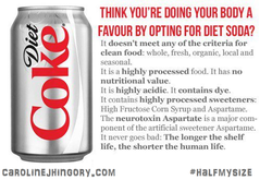 THINK YOU'RE DOING YOUR BODY A 