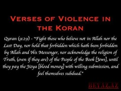 VERSES OF VIOLENCE IN 
