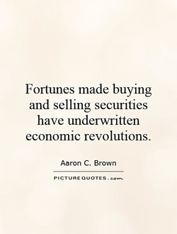 Fortunes made buying 