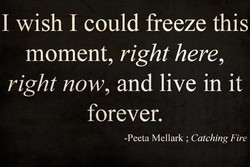 I wish I could freeze this 