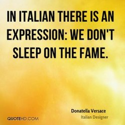 IN ITALIAN THERE IS AN 