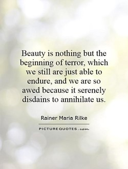 Beauty is nothing but the 