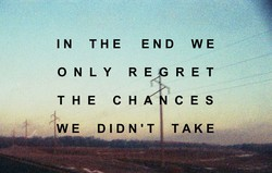 IN THE END WE 