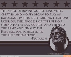 THE ABUSE OF BUYING AND SELLING VOTES 