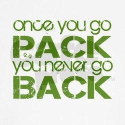 once, you go 