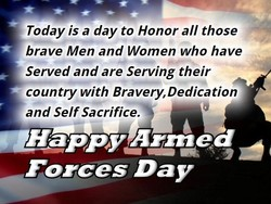 Today is a day to Honor all those 