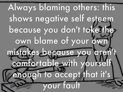 A ways -laming others: this 