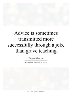 Advice is sometimes 